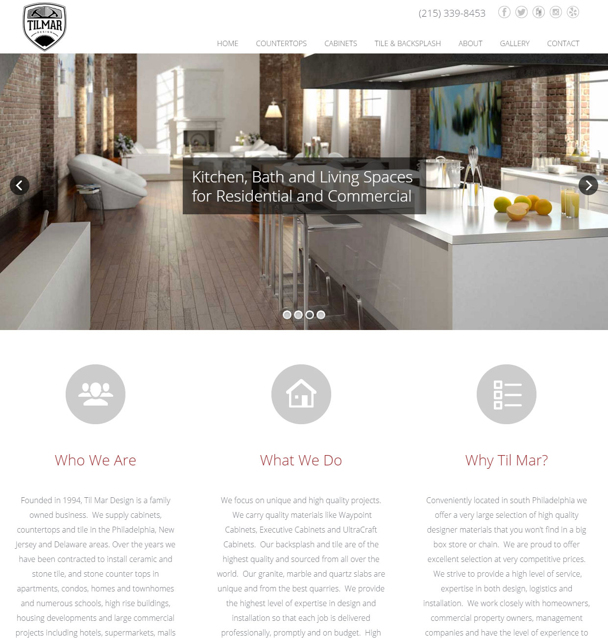 Custom kitchen and bath design website philadelphia pa
