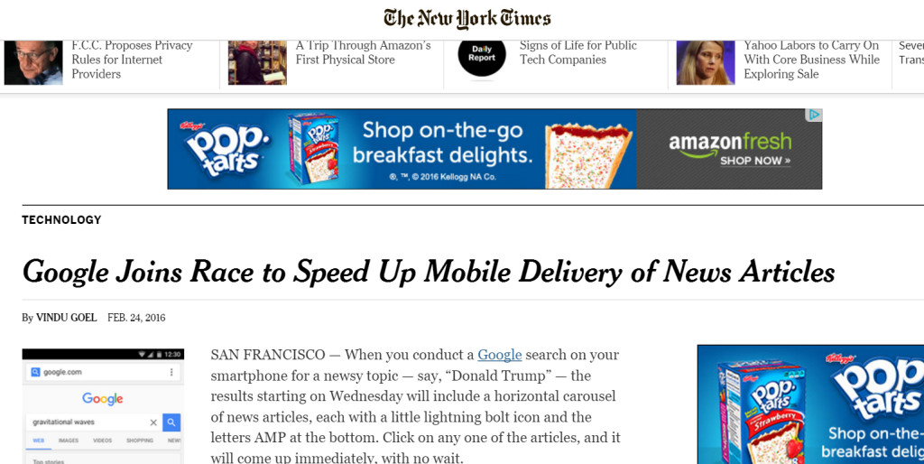 how to speed up your mobile website
